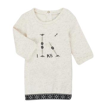Vêtements Fille Robes courtes Ikks XR30180 Beige