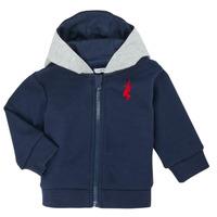 Vêtements Garçon Gilets / Cardigans Ikks XR17001 Bleu