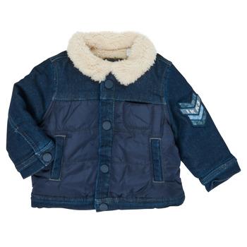 Vêtements Garçon Blousons Ikks XR40031 Bleu