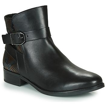 Chaussures Femme Boots Caprice 25331-045 Noir