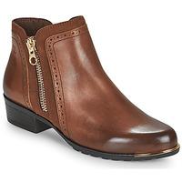 Chaussures Femme Boots Caprice  Cognac