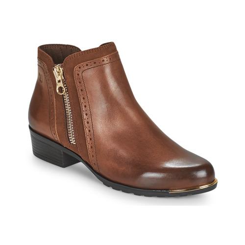 Chaussures Femme Boots Caprice 25403-313 Cognac