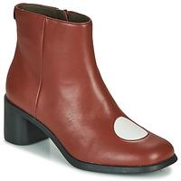 Chaussures Femme Bottines Camper TWINS Bordeaux