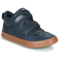 Chaussures Enfant Baskets basses Camper POURSUIT Marine