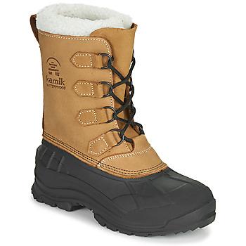 Chaussures Femme Bottes de neige KAMIK ALBORG Marron