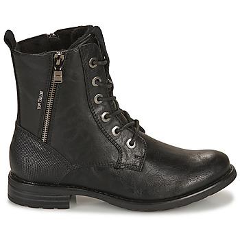 Boots Tom Tailor 93303-NOIR