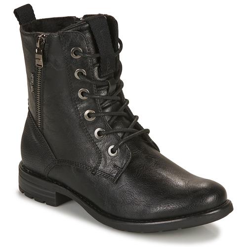 Chaussures Femme Boots Tom Tailor 93303-NOIR Noir