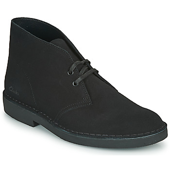 Chaussures Homme Boots Clarks DESERT BOOT 2 Noir