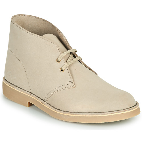 Chaussures Homme Boots Clarks DESERT BOOT 2 Sable