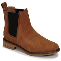 Chaussures Femme Boots Clarks CLARKDALE ARLO Camel
