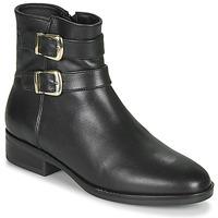 Chaussures Femme Boots Clarks PURE MID Noir