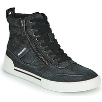 Chaussures Homme Baskets montantes Diesel S-DVELOWS Noir