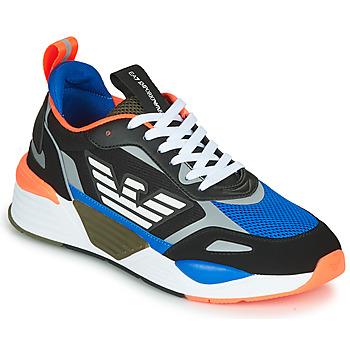 Chaussures Homme Baskets basses Emporio Armani EA7 XK165 Noir / Bleu / Orange