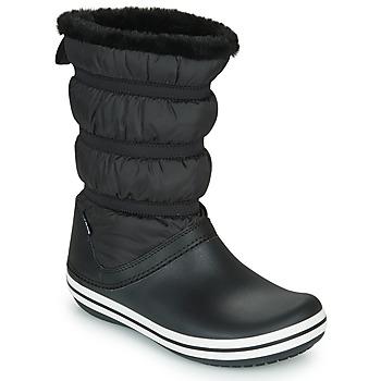 Chaussures Femme Bottes de neige Crocs CROCBAND BOOT W Noir