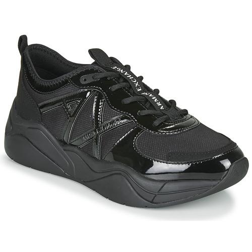 Chaussures Femme Baskets basses Armani Exchange BALDA Noir