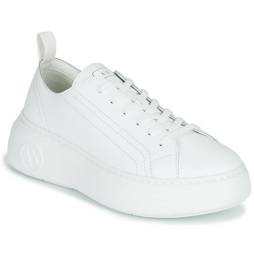Chaussures Femme Baskets basses Armani Exchange PROMNA Blanc
