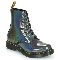 Chaussures Femme Boots Dr Martens VEGAN 1460 PASCAL Argenté