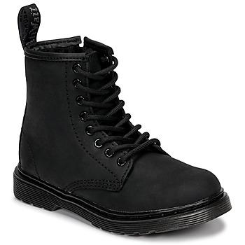 Chaussures Enfant Boots Dr Martens 1460 SERENA MONO J Noir