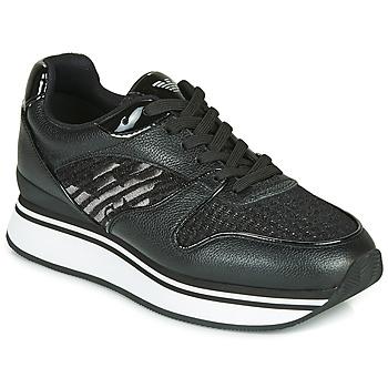 Chaussures Femme Baskets basses Emporio Armani X3X046-XM547 Noir