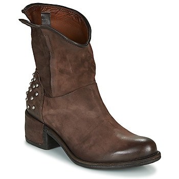 Chaussures Femme Boots Airstep / A.S.98 OPEA STUDS Marron
