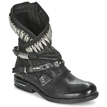 Chaussures Femme Boots Airstep / A.S.98 TIAL FOGLIE Noir