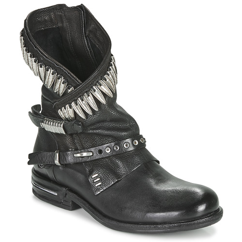 Chaussures Femme Boots Airstep / A.S.98 TIAL FOGLIE Noir