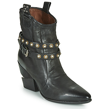 Chaussures Femme Bottines Airstep / A.S.98 TINGET BUCKLE Noir