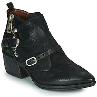 Chaussures Femme Bottines Airstep / A.S.98 PARADE BUCKLE Noir
