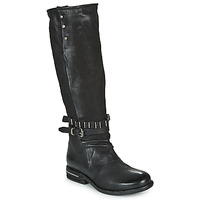 Chaussures Femme Bottes ville Airstep / A.S.98 TEAL HIGH Noir