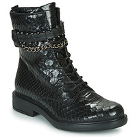 Chaussures Femme Boots Mjus CAFE SNAKE Noir