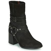 Chaussures Femme Bottines Mjus TUA BUCKLE Noir