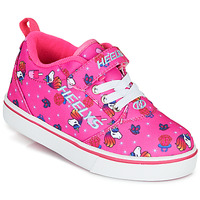 Chaussures Fille Chaussures à roulettes Heelys PRO 20 X2 Rose