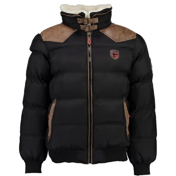 Vêtements Garçon Doudounes Geographical Norway ABRAMOVITCH BOY Noir