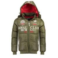 Vêtements Garçon Doudounes Geographical Norway AVALANCHE BOY Kaki