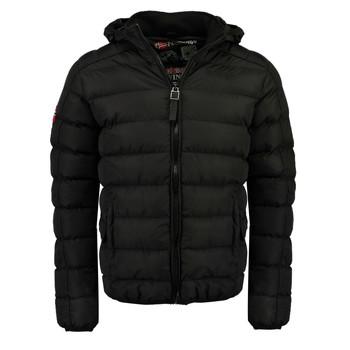 Vêtements Garçon Doudounes Geographical Norway BOMBE BOY Noir