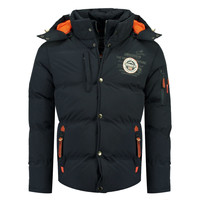 Vêtements Garçon Doudounes Geographical Norway VERVEINE BOY Marine