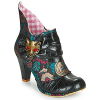 Chaussures Femme Bottines Irregular Choice MIAOW Noir