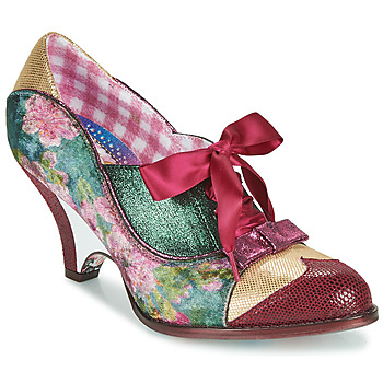 Chaussures Femme Escarpins Irregular Choice FORCE OF BEAUTY Bordeaux / Vert