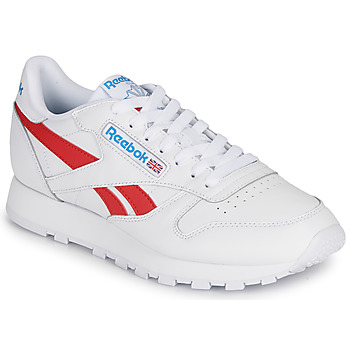 Chaussures Baskets basses Reebok Classic CL LTHR Blanc / Rouge