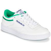 Chaussures Baskets basses Reebok Classic CLUB C 85 Blanc / Vert