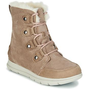 Chaussures Femme Boots Sorel SOREL EXPLORER JOAN Beige