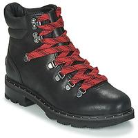 Chaussures Femme Boots Sorel LENNOX HIKER Noir