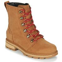 Chaussures Femme Boots Sorel LENNOX LACE Marron