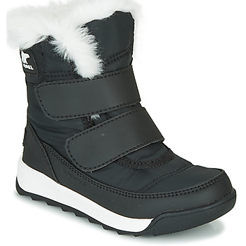 Chaussures Enfant Boots Sorel CHILDRENS WHITNEY II STRAP Noir