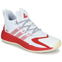 Chaussures Basketball adidas Performance COLL3CTIV3 2020 LOW Blanc / Rouge