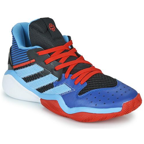 Chaussures Basketball adidas Performance HARDEN STEPBACK Bleu / Noir