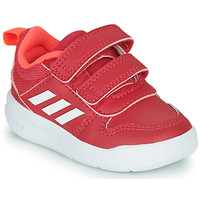 Chaussures Fille Baskets basses adidas Performance TENSAUR I Rose / Blanc