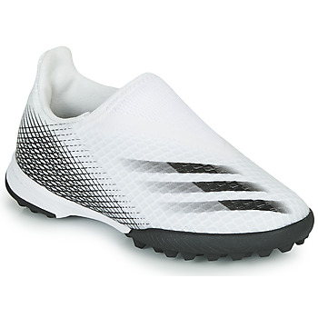 Chaussures Enfant Football adidas Performance X GHOSTED.3 LL TF J Blanc