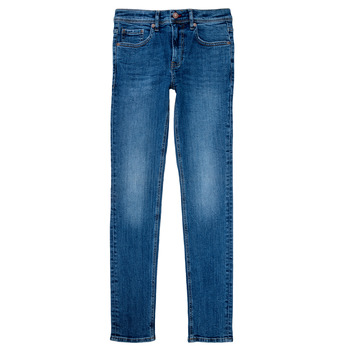 Vêtements Garçon Jeans droit Teddy Smith FLASH Bleu