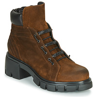Chaussures Femme Bottines Fru.it POMPEI Marron